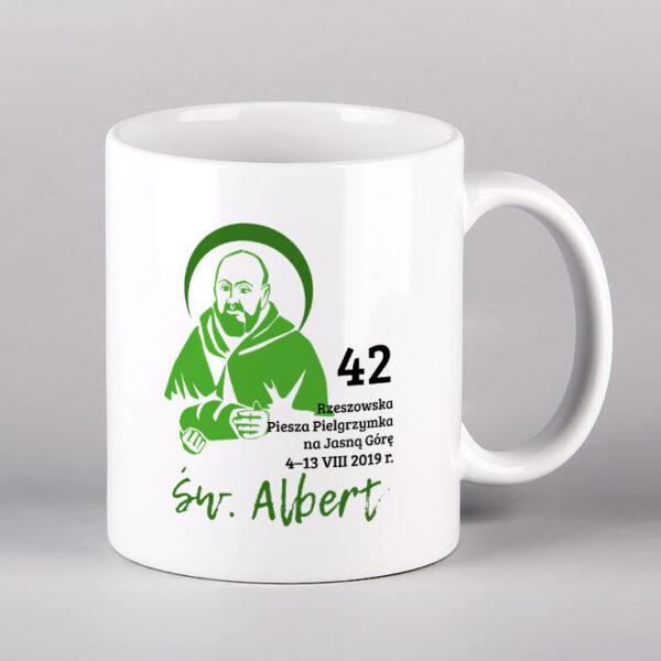 Kubek ceramiczny św. Albert Drukarnia Bonus Liber
