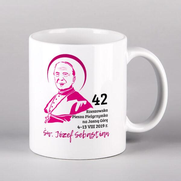Kubek ceramiczny św. Józej Sebastian Pelczar Drukarnia Bonus Liber