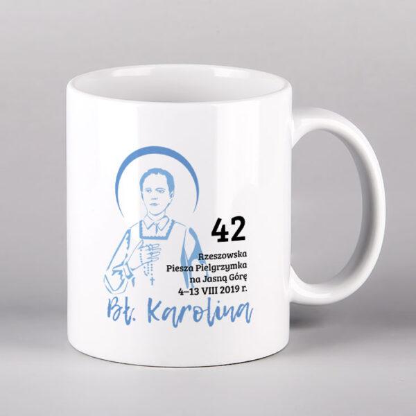 Kubek ceramiczny św. Karolina Drukarnia Bonus Liber