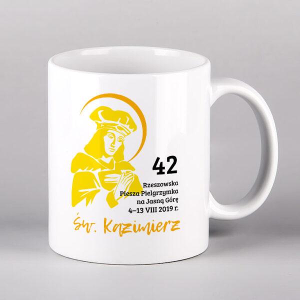 Kubek ceramiczny św. Kazimierz Drukarnia Bonus Liber