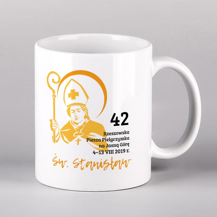 Kubek ceramiczny św. Stanisław Drukarnia Bonus Liber